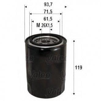 586090 Valeo Фильтр масляный (накручиваемый)