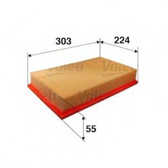 585273 Valeo Фильтр воздушный (плоский)