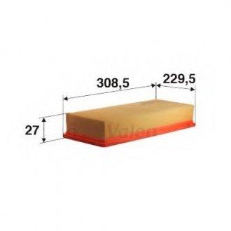 585070 Valeo Фильтр воздушный (плоский)