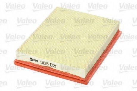 585021 Valeo Фильтр воздушный (плоский)