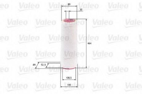585625 Valeo Фильтр воздушный (круглый)