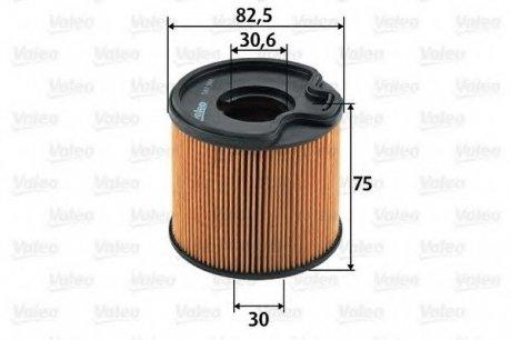587901 Valeo Фильтр топливный (вставка)