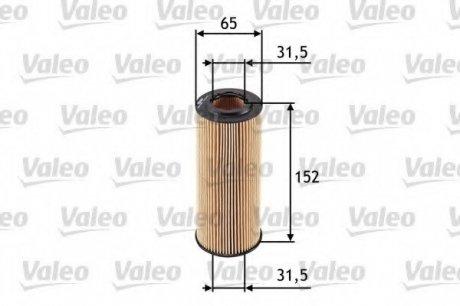 586545 Valeo Фильтр масляный (вставка)