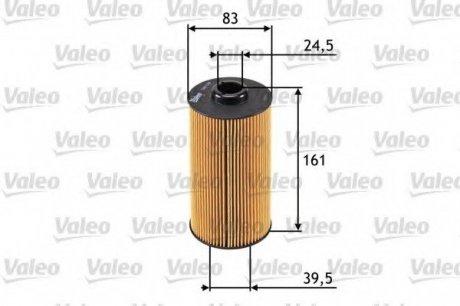 586570 Valeo Фильтр масляный (вставка)
