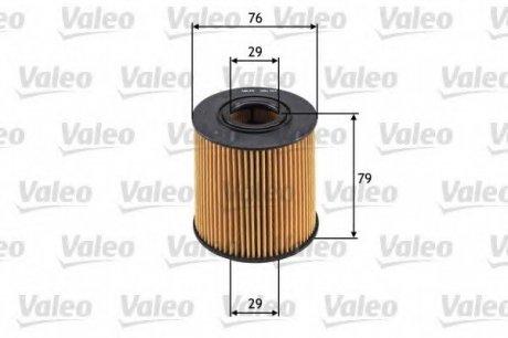 586561 Valeo Фильтр масляный (вставка)