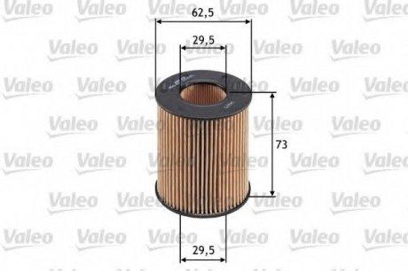 586554 Valeo Фильтр масляный (вставка)