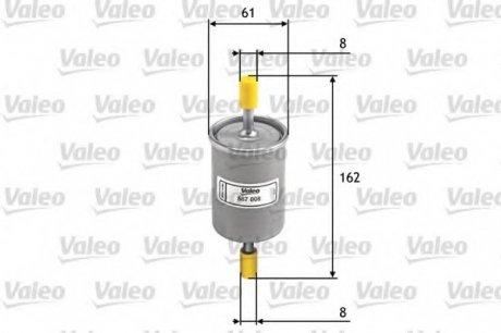 587008 Valeo Фильтр топливный
