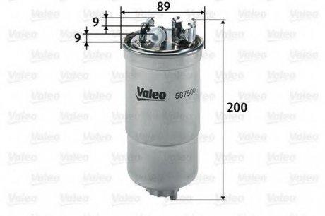 587500 Valeo Фильтр топливный