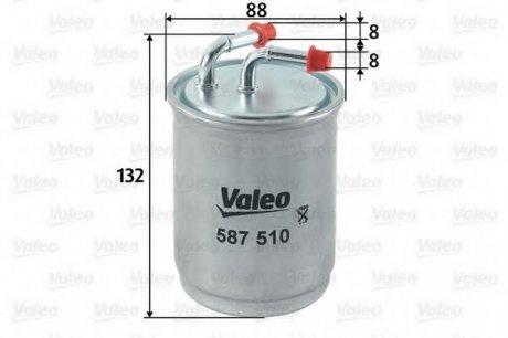 587510 Valeo Фильтр топливный