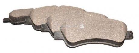 4163601210 JP GROUP Комплект тормозных колодок, дисковый тормоз