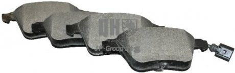 1163607819 JP GROUP Комплект тормозных колодок, дисковый тормоз
