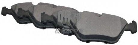 1463600519 JP GROUP Комплект тормозных колодок, дисковый тормоз